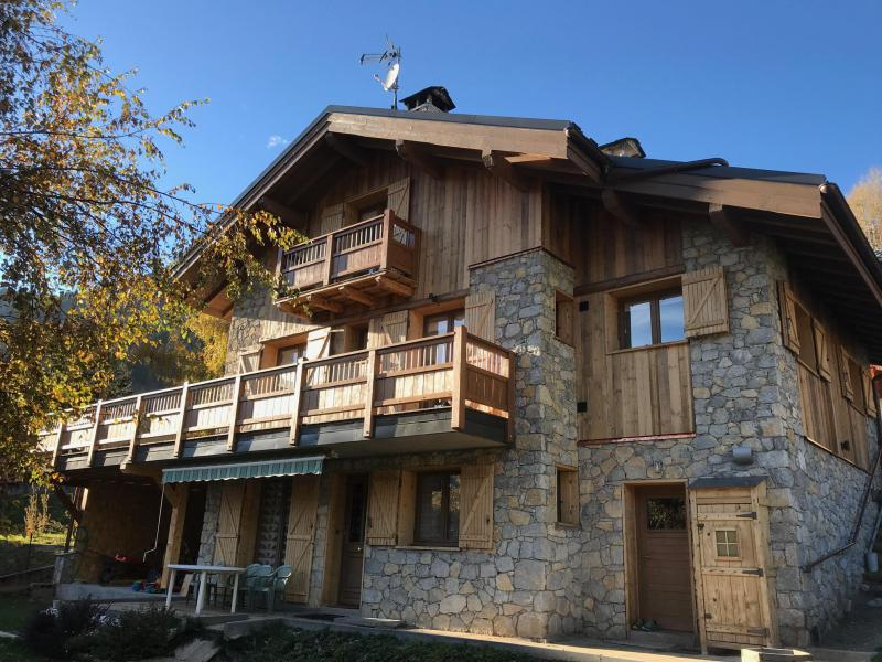 Vacances en montagne Chalet le Petit Ours - Champagny-en-Vanoise - Extérieur été