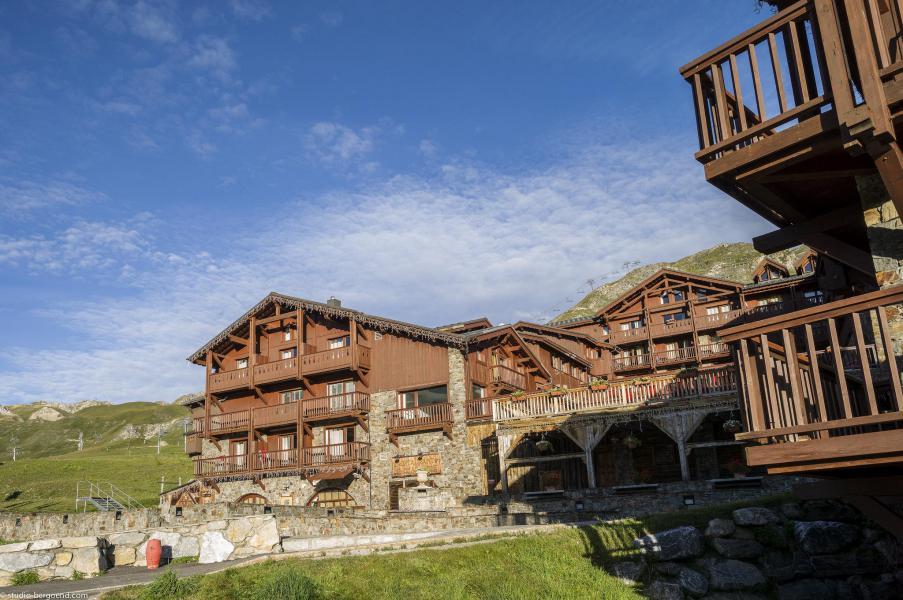 Vacances en montagne Chalet le Planton - Tignes - Extérieur été