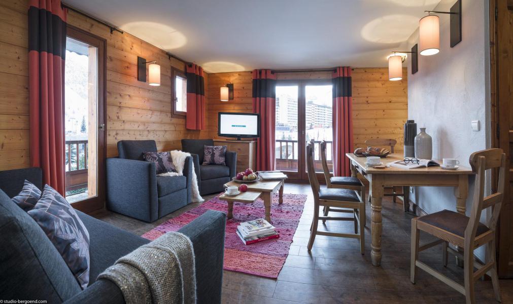 Vacances en montagne Appartement 4 pièces 6 personnes - Chalet le Planton - Tignes - Séjour