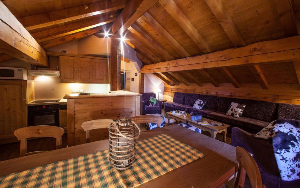 Vacances en montagne Appartement 6 pièces 9 personnes - Chalet le Planton - Tignes - Séjour