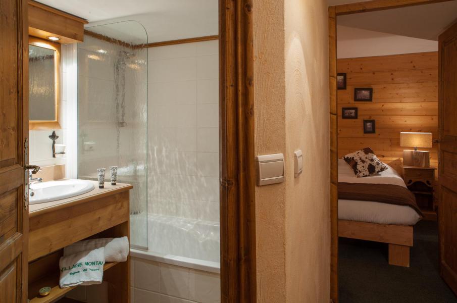 Vacances en montagne Chalet le Planton - Tignes - Salle de bains