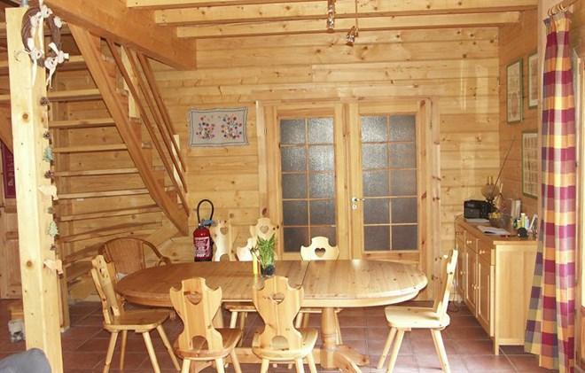 Vacanze in montagna Chalet le Pleynet - Les 2 Alpes - Angolo pranzo