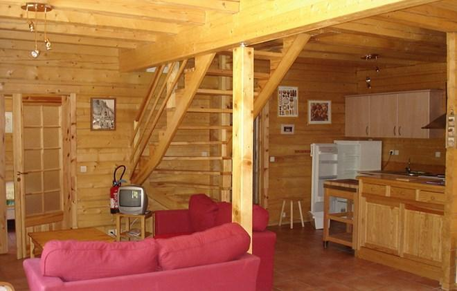 Vacances en montagne Chalet le Pleynet - Les 2 Alpes - Canapé