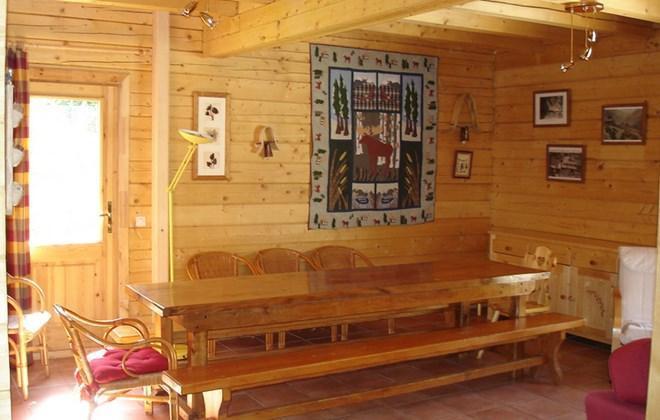 Vacances en montagne Chalet le Pleynet - Les 2 Alpes - Coin repas