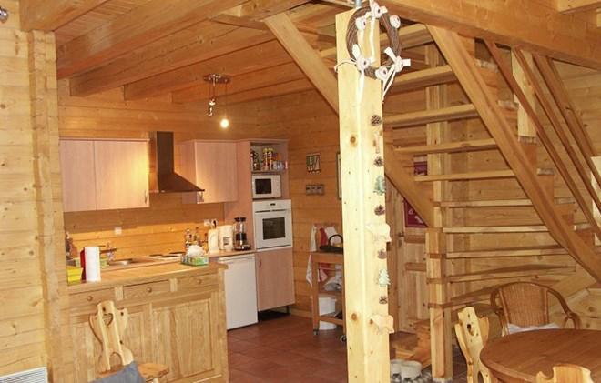 Vacances en montagne Chalet le Pleynet - Les 2 Alpes - Cuisine