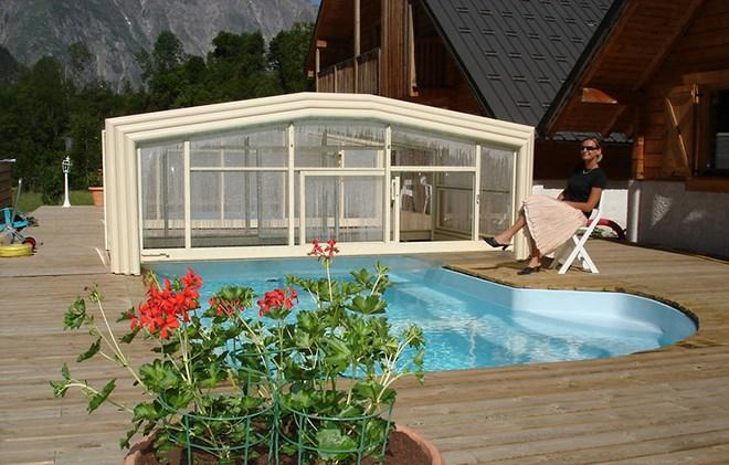 Chalet le pleynet partir de 1586 location vacances for Piscine les 2 alpes