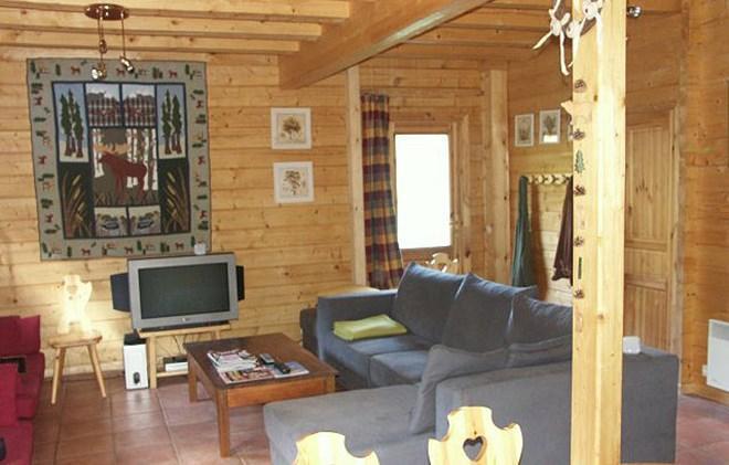 Vacanze in montagna Chalet le Pleynet - Les 2 Alpes - Soggiorno