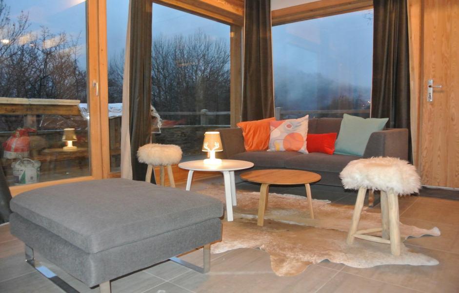 Wakacje w górach Chalet le Pure Altitude - Valloire - Pokój gościnny