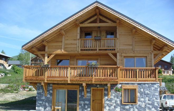 Rent in ski resort Chalet le Reflet des Aiguilles - La Toussuire - Summer outside