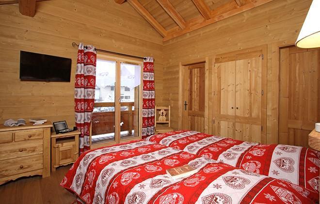 Vacances en montagne Chalet Le Renard Lodge - Les 2 Alpes - Chambre
