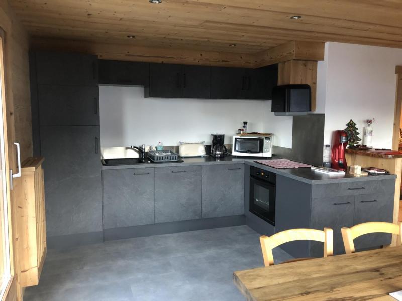 Vacaciones en montaña Apartamento 4 piezas para 8 personas - Chalet le Rocher - Le Grand Bornand - Alojamiento