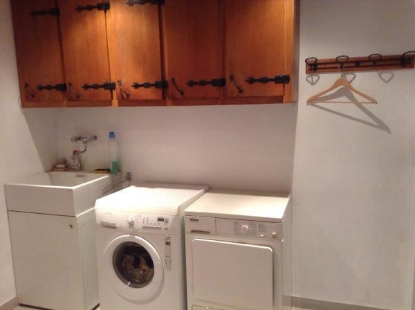 Vacaciones en montaña Apartamento 4 piezas para 8 personas - Chalet le Rocher - Le Grand Bornand - Cuarto de lavado
