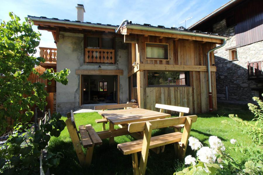 Vacances en montagne Chalet le Sapé - Champagny-en-Vanoise - Extérieur été