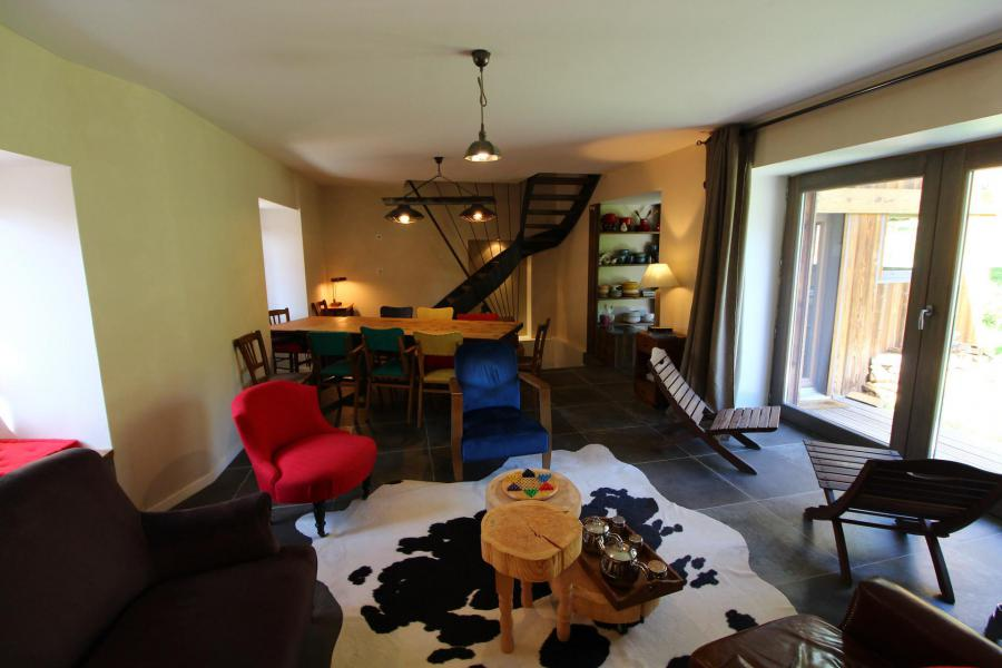 Vakantie in de bergen Chalet 5 kamers 10 personen (CH) - Chalet le Sapé - Champagny-en-Vanoise - Eetkamer