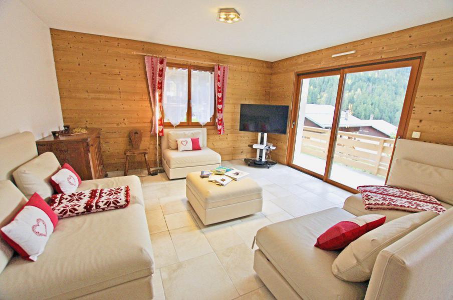 Vacances en montagne Chalet 6 pièces 10 personnes - Chalet le Sérac - Champagny-en-Vanoise - Séjour