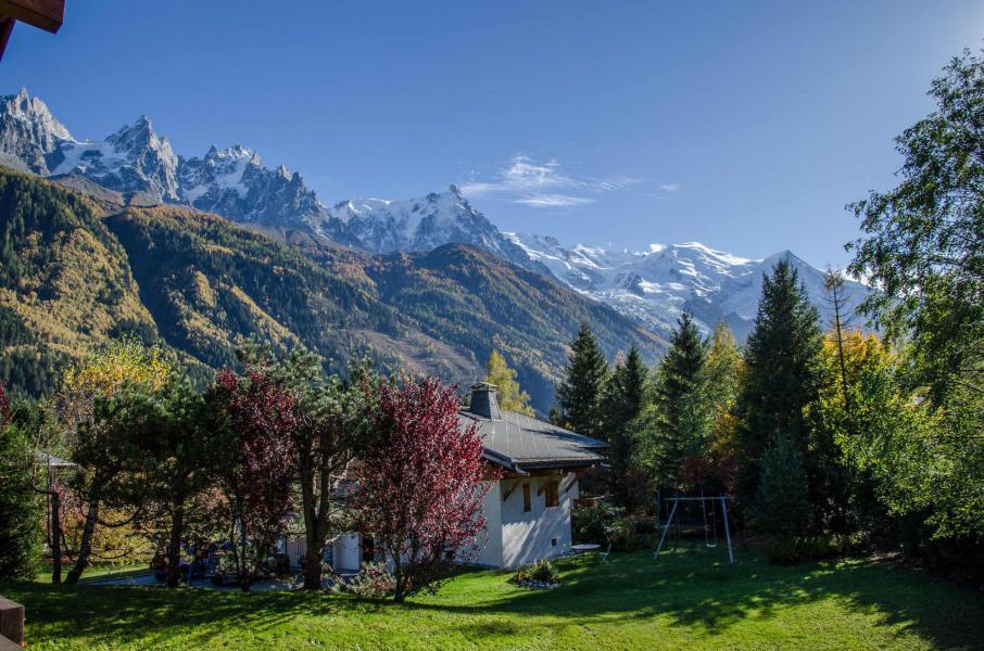 Vacaciones en montaña Chalet le Tilleul - Chamonix - Verano