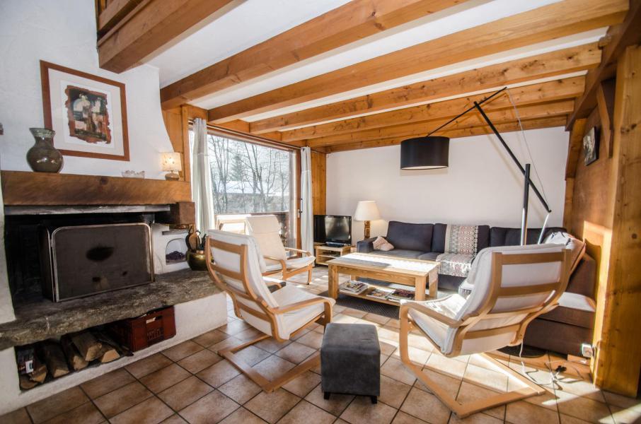 Vacaciones en montaña Chalet triplex 8 piezas para 12 personas - Chalet le Tilleul - Chamonix - Estancia