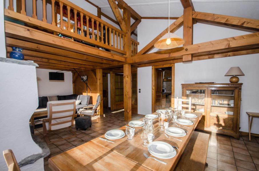 Wakacje w górach Domek górski triplex 8 pokojowy  dla 12 osób - Chalet le Tilleul - Chamonix - Jadalnia