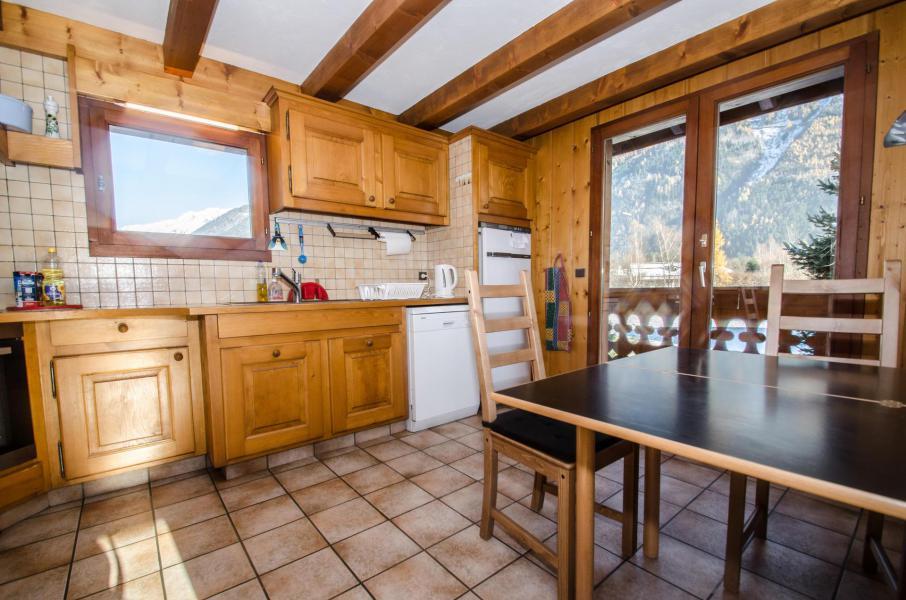 Wakacje w górach Domek górski triplex 8 pokojowy  dla 12 osób - Chalet le Tilleul - Chamonix - Kuchnia