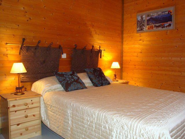 Vacaciones en montaña Apartamento cabina para 3 personas - Chalet le Val d'Or - Châtel - Cama doble