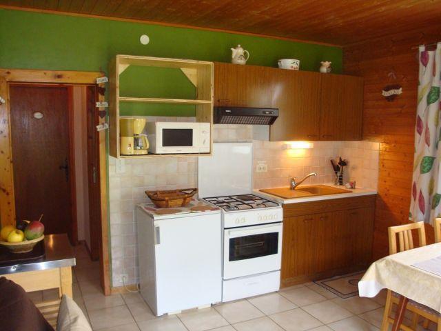Vacaciones en montaña Apartamento cabina para 3 personas - Chalet le Val d'Or - Châtel - Kitchenette