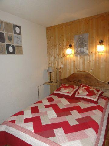 Vacaciones en montaña Apartamento 2 piezas para 4 personas - Chalet le Vieux Four - Châtel - Cama doble