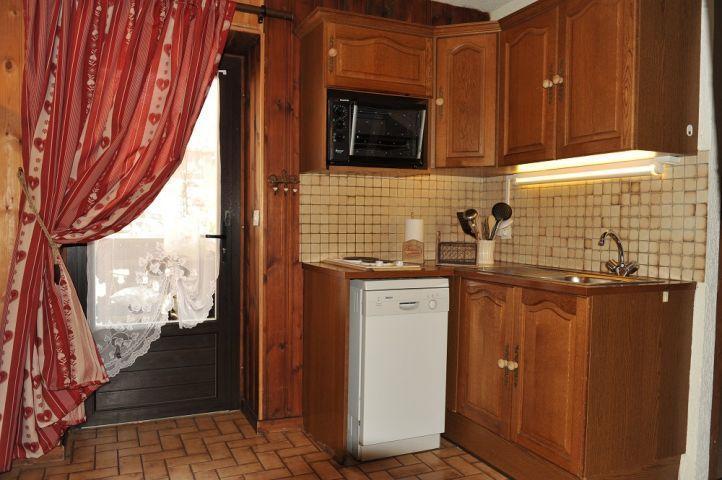 Vacaciones en montaña Apartamento 2 piezas para 4 personas - Chalet le Vieux Four - Châtel - Kitchenette