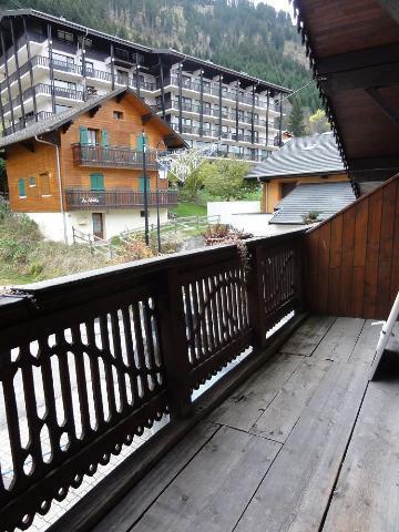 Vacaciones en montaña Apartamento 3 piezas para 7 personas (1) - Chalet le Vieux Four - Châtel - Balcón
