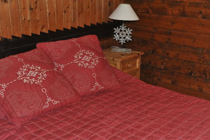 Vacaciones en montaña Apartamento 3 piezas para 7 personas (1) - Chalet le Vieux Four - Châtel - Cama doble