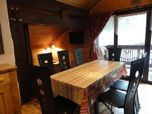 Vacaciones en montaña Apartamento 3 piezas para 7 personas (1) - Chalet le Vieux Four - Châtel - Mesa