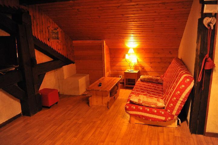 Vacaciones en montaña Apartamento 3 piezas para 7 personas (2) - Chalet le Vieux Four - Châtel - Sofá-cama