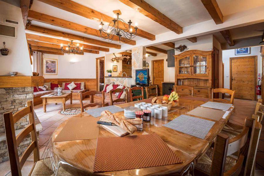Vacances en montagne Chalet Léa - La Tania - Salle à manger
