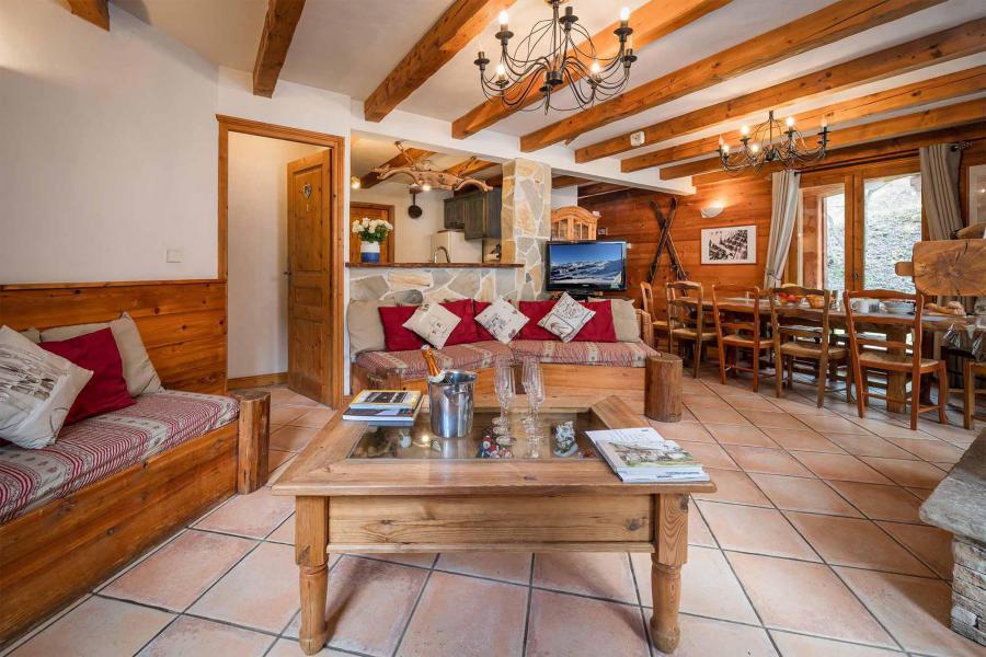 Vacances en montagne Chalet Léa - La Tania - Séjour