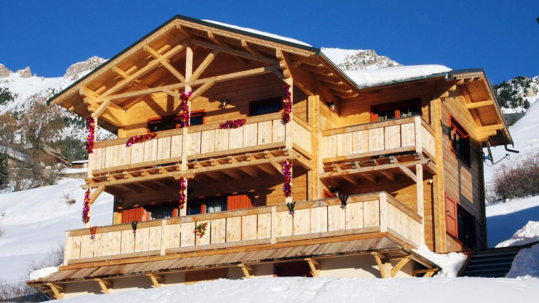 Holiday in mountain resort 4 room chalet 8 people (002) - Chalet Légende d'Automne - Vars - Accommodation