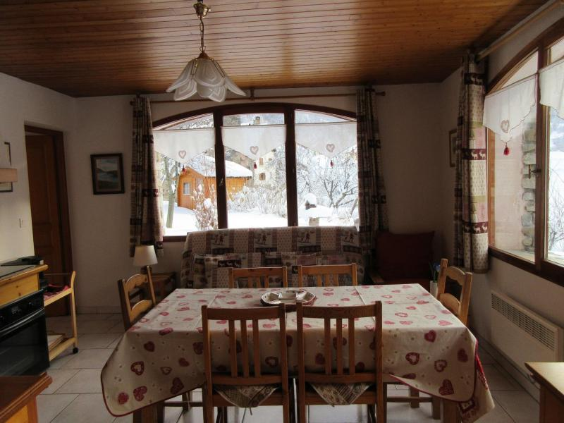 Holiday in mountain resort 3 room apartment 6 people - Chalet les Agneaux - Valloire