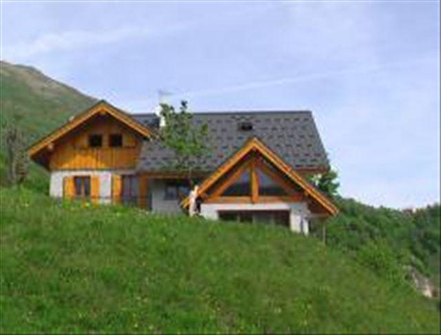 Holiday in mountain resort Chalet les Aiguilles - Valloire - Summer outside