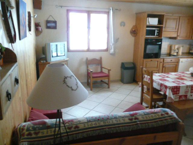 Holiday in mountain resort 5 room duplex apartment 10 people (1) - Chalet les Aiguilles - Valloire - Dining area