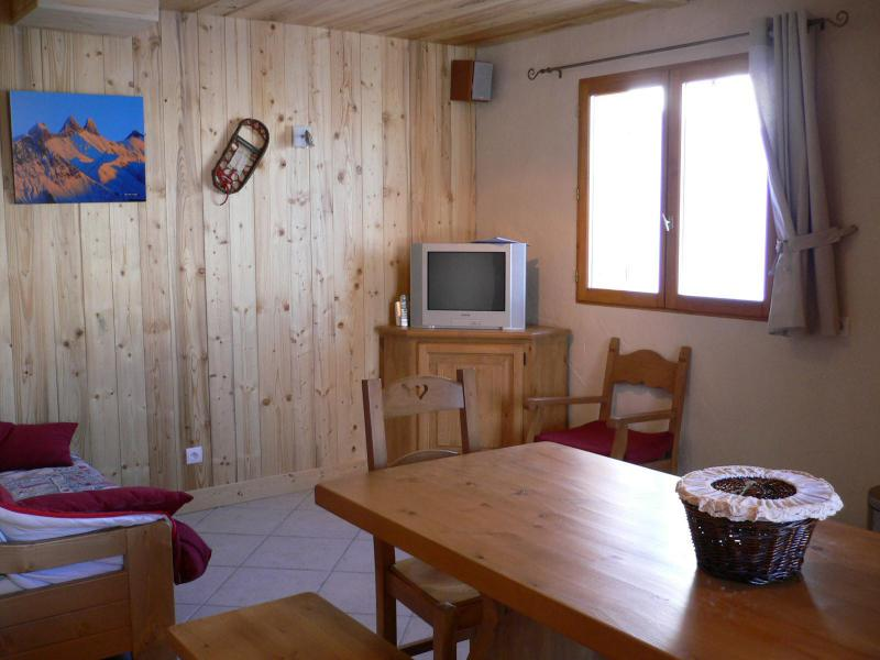 Holiday in mountain resort 5 room duplex apartment 10 people (1) - Chalet les Aiguilles - Valloire - TV