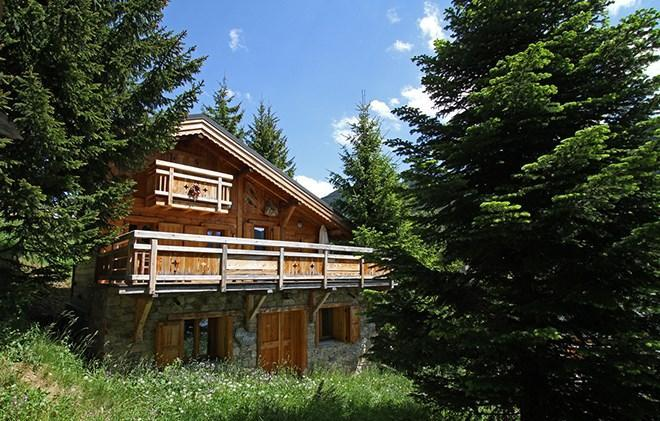 Location au ski Chalet les Alpages - Les 2 Alpes - Extérieur été