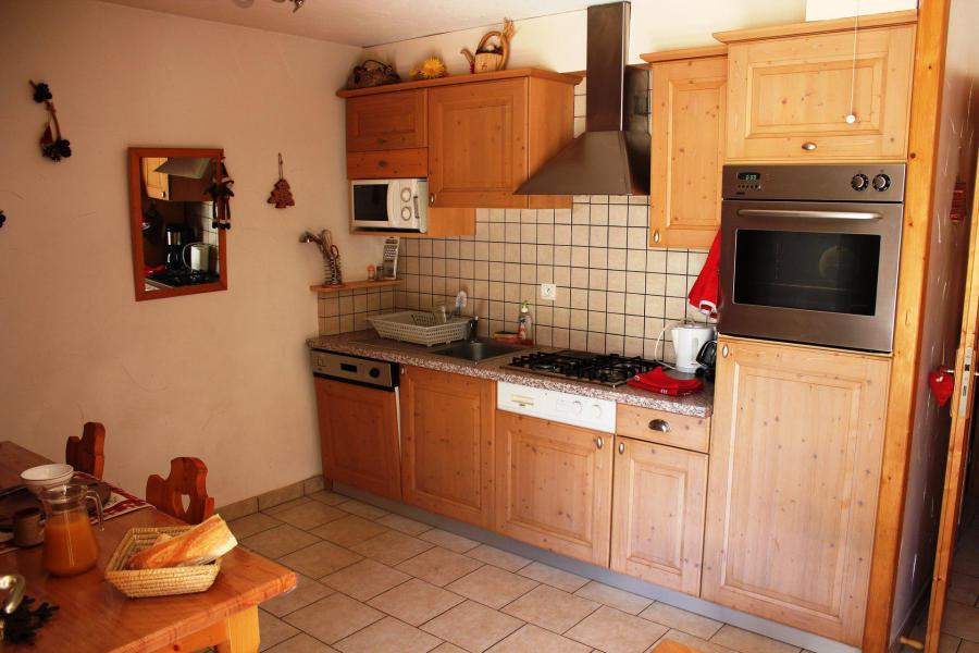 Holiday in mountain resort 3 room apartment cabin 6 people (GENTIANE) - Chalet les Ancolies - Valloire