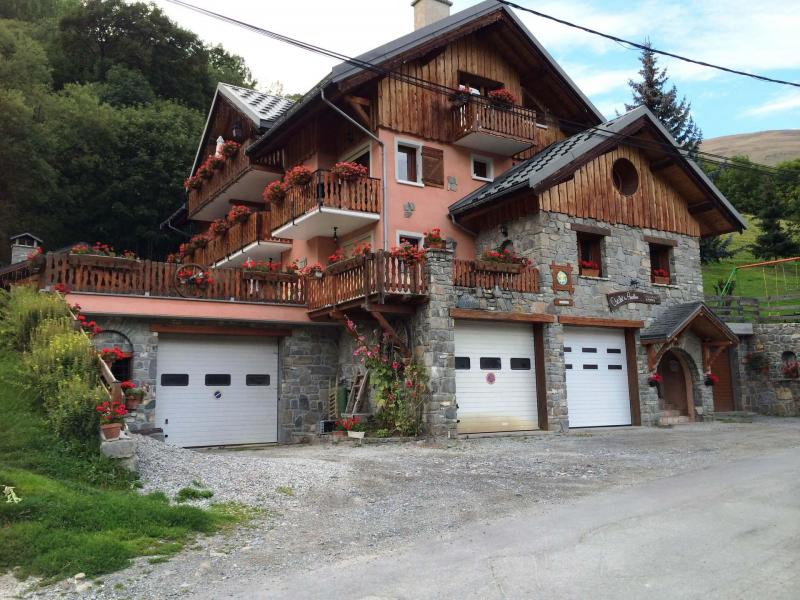 Holiday in mountain resort Chalet les Ancolies - Valloire - Summer outside