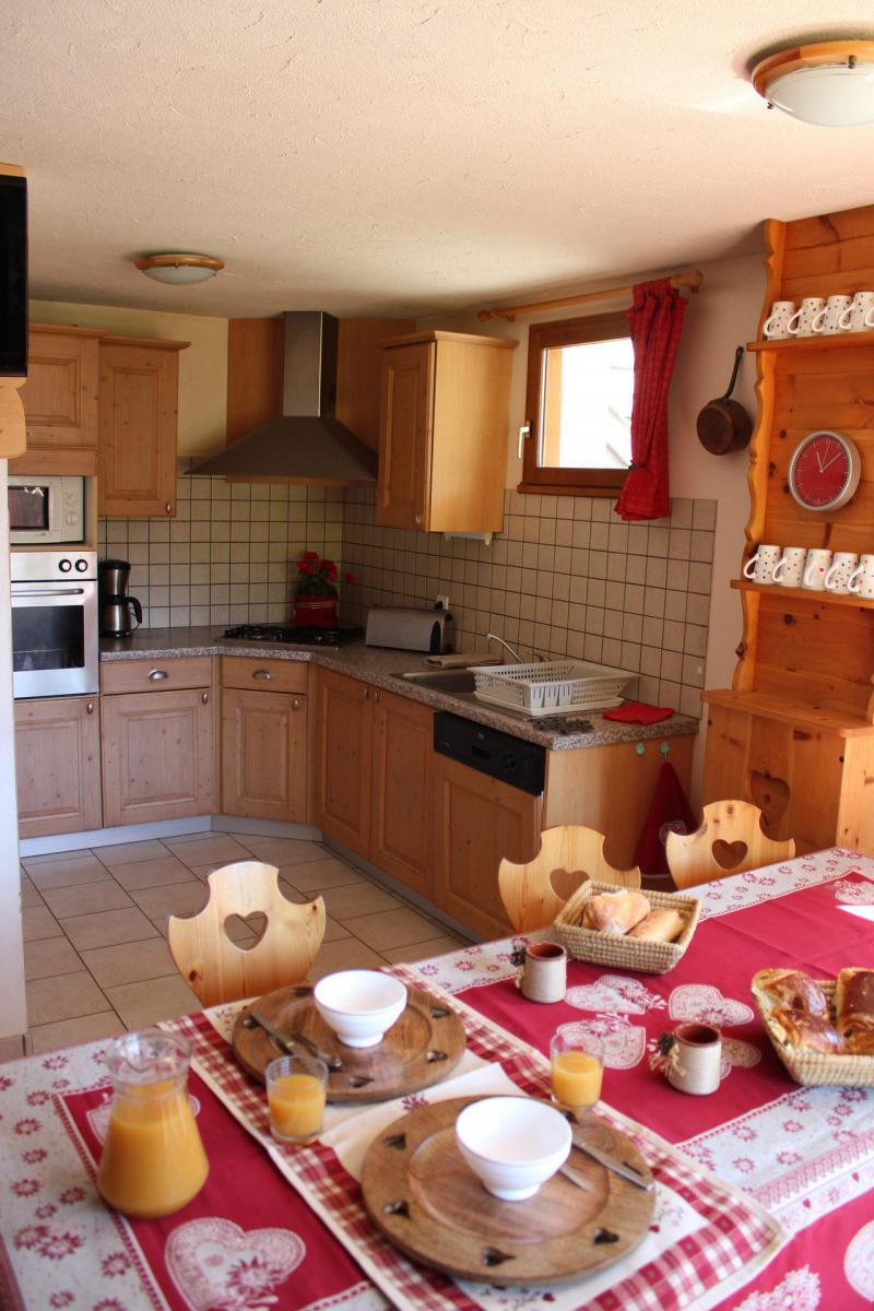 Holiday in mountain resort 4 room apartment 8 people (EDELWANCE) - Chalet les Ancolies - Valloire