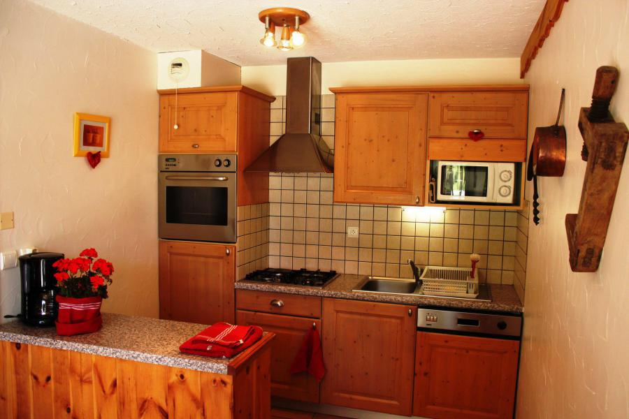 Holiday in mountain resort Studio cabin 4 people - Chalet les Ancolies - Valloire