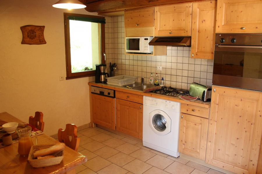 Holiday in mountain resort 3 room apartment cabin 6 people (ANEMONE) - Chalet les Ancolies - Valloire