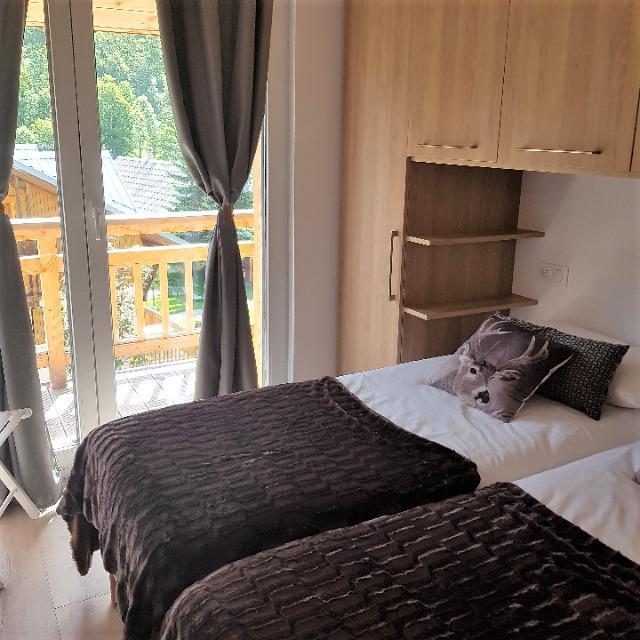 Wakacje w górach Apartament duplex 5 pokojowy 8 osób (NORD) - Chalet les Balcons de Pierre Pomme - Valloire - Łóżkiem