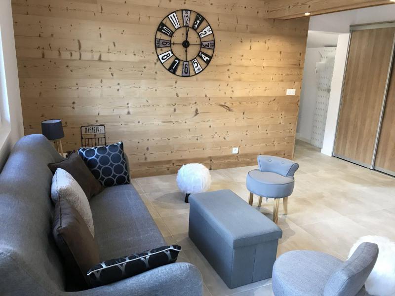 Wakacje w górach Apartament duplex 5 pokojowy 8 osób (NORD) - Chalet les Balcons de Pierre Pomme - Valloire - Pokój gościnny