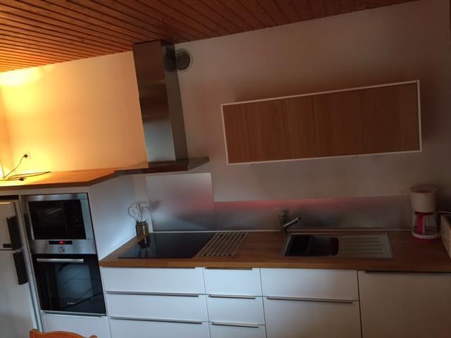 Wakacje w górach Apartament 3 pokojowy 6 osób - Chalet les Barbules - Châtel - Aneks kuchenny