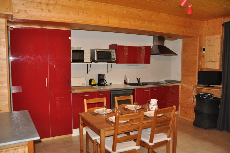 Wakacje w górach Apartament 2 pokojowy 4 osób (5) - Chalet les Bouquetins - Châtel
