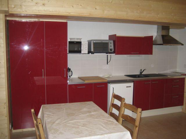 Vacaciones en montaña Apartamento 2 piezas para 4 personas (5) - Chalet les Bouquetins - Châtel - Kitchenette