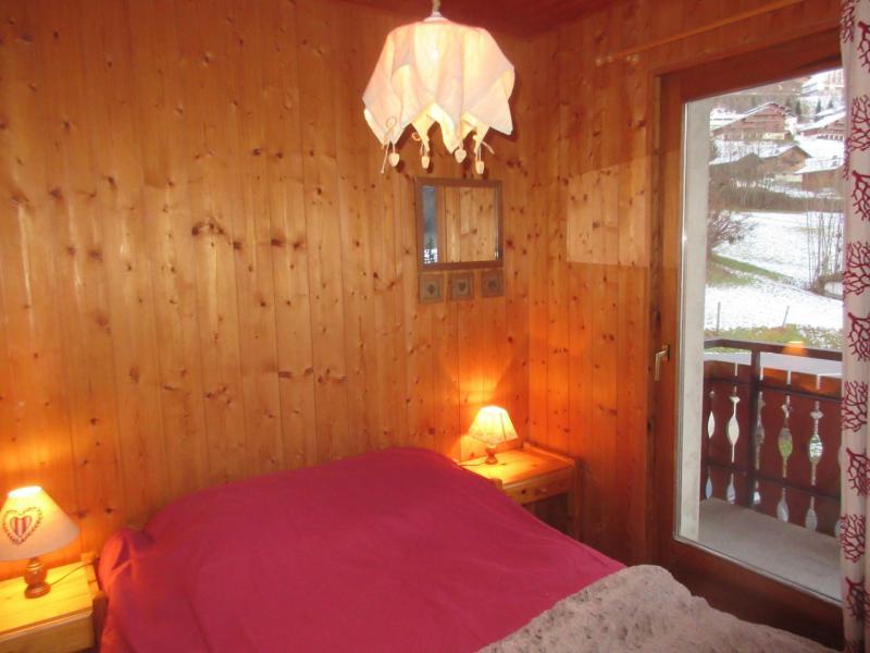 Vacaciones en montaña Apartamento 3 piezas para 6 personas (1) - Chalet les Bouquetins - Châtel - Cama doble